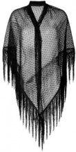 Missoni - Sciarpa di maglia con frange - women - Viscose - OS - BLACK