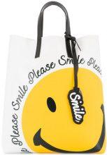 Joshua Sanders - smile tote - women - PVC - OS - WHITE