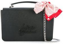 Love Moschino - bandana-detail satchel - women - PVC - One Size - BLACK