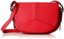 ESPRIT 038ea1o005 - Borse a tracolla Donna, Rosso (Red), 7x15x22.5 cm (B x H T)