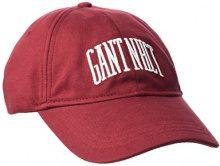 GANT o.Jersey Cap, Berretto da Baseball Donna, Rosso (Mahogany Red), Taglia unica