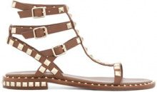 Ash - studded sandals - women - Leather - 35, 36, 40, 41 - BROWN