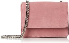 PIECES Pcgrania Suede Small Cross Body - Borse a tracolla Donna, Rosa (Sea Pink), 3x15x20 cm (B x H T)