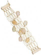 Rosantica - Bracciale 'Peppermint' - women - Brass - OS - METALLIC