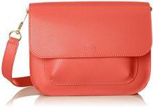 BREE Cambridge 7 - Borse a spalla Donna, Rosso (Massai Red), 14x19x27 cm (B x H T)