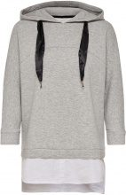 ONLY Long Sweatshirt Women Grey