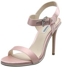 Steve MaddenFeeling-s Sandal - Sandali con Tacco Donna, Rosa (Pink (Pink)), 38