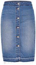 ONLY Button Denim Skirt Women Blue