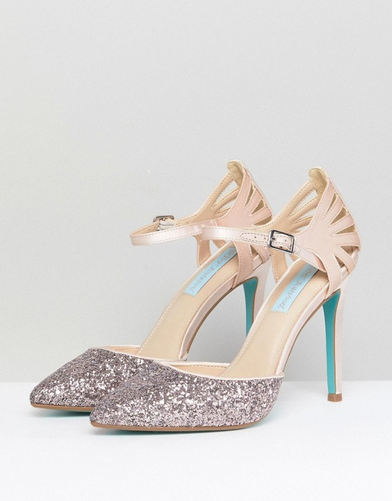 Scarpe Matrimonio Blue Da Avery Betsy Con Cipria By Johnson FwFOIZPxRq