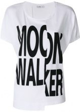 Closed - T-shirt 'Moon Walker' - women - Cotton - S, XS, M - WHITE