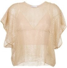Nk - tricot blouse - women - Polyester - 38, 40, 42 - NUDE & NEUTRALS