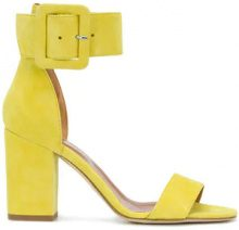 - Paris Texas - Sandali con fascia alla caviglia - women - Suede/Leather - 37, 39, 40 - Giallo & arancio