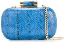 Inge Christopher - Clutch 'Lia' - women - Leather - OS - BLUE