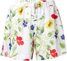 Blugirl - Shorts a fiori - women - Polyester - 38, 42 - Bianco