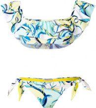 Emilio Pucci - ruffle front bikini - women - Polyamide/Spandex/Elastane - 42 - Multicolore