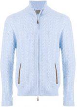N.Peal - Maglione lavorato a maglia 'Richmond' - men - Cashmere - S, M, L, XL - BLUE