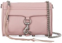 Rebecca Minkoff - mini Mac crossbody bag - women - Leather/Polyester - OS - PINK & PURPLE