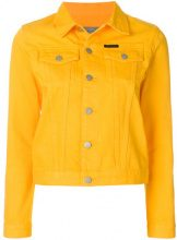 Calvin Klein Jeans - Giacca - women - Cotton - XS - YELLOW & ORANGE