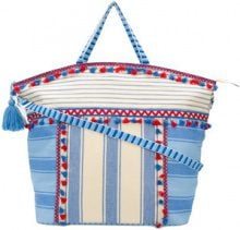 Dodo Bar Or - Borsa tote 'Lydia' - women - Cotone - One Size - BLUE