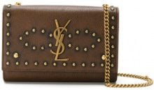 Saint Laurent - Borsa a tracolla - women - Leather - OS - BROWN