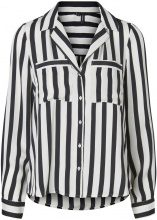 VERO MODA Striped Shirt Women Black
