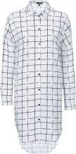 Camicia lunga con spalle scese (Bianco) - BODYFLIRT
