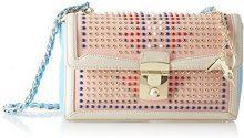 Trussardi Jeans Saint Tropez, Borsa a Spalla Donna, Rosa (Pink Light), 28x17x10 cm