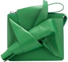 Nº21 - Clutch con fiocco - women - Leather - OS - GREEN