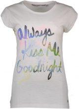 T-shirt Silvian Heach  FCP16423TS FX BANDIRALI T-SHIRT MANICHE CORTE Donna BIANCO WHIT
