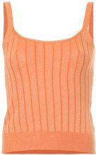 Loveless - Top in maglia - women - Rayon/Cotton/Polyurethane - 34, 36 - YELLOW & ORANGE
