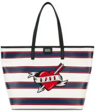 - Karl Lagerfeld - Borsa shopper 'Captain Karl Heart' - women - PVC - Taglia Unica - Blu