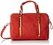 Vanessa Bruno Cabas Gym Bag Pm - Borse Bowling Donna, Orange (Orange Ginger), 23x27x41 cm (W x H L)