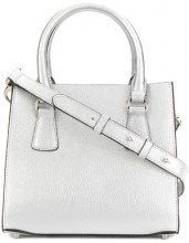 L'Autre Chose - Mini borsa - women - Leather - OS - METALLIC