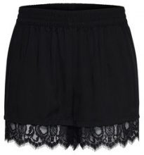 ONLY Lace Shorts Women Black