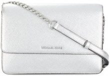 Michael Michael Kors - Borsa tracolla 'Daniela' - women - Leather - OS - METALLIC