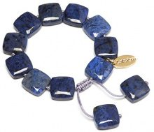 FASHIONNECKLACEBRACELETANKLET, colore: blu, cod. SLOAN369000