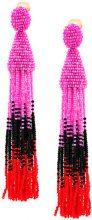 Oscar de la Renta - Orecchini con perline - women - Plastic - OS - Multicolore