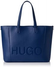 HUGO Mayfair Shopper - Borse a spalla Donna, Blu (Open Blue), 15x29x44 cm (B x H T)