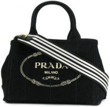 Prada - Borsa Tote 'Giardiniera' - women - Cotton - One Size - BLACK
