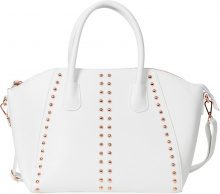 Borsa con borchie (Bianco) - bpc bonprix collection