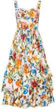 Dolce & Gabbana - Abito a fiori - women - Cotton - 42, 44 - MULTICOLOUR