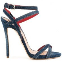 Dsquared2 - Sandali in denim - women - Goat Skin/Leather/Cotone/Spandex/Elastane - 38, 39, 37, 40, 36, 41 - BLUE