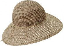 Seeberger Serie Norderney, Cappelli da Sole Donna, Braun (Taupe 0086), Taglia unica