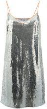 Marco De Vincenzo - sequined top - women - Polyester - 40, 42, 44 - METALLIC