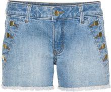 Shorts di jeans con bottoni (Blu) - BODYFLIRT