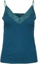 SELECTED Lace - Singlet Women Blue