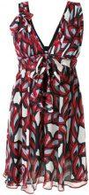Pinko - Vestito con motivo astratto - women - Silk/Polyester - 44, 40, 42 - MULTICOLOUR