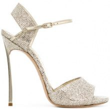 Casadei - glitter stilettos - women - Leather/PVC/Kid Leather - 35, 35.5, 36, 36.5, 37, 37.5, 38.5, 39, 39.5, 40, 41 - METALLIC