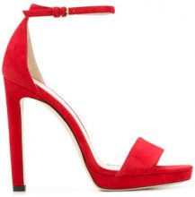 Jimmy Choo - Misty 120 sandals - women - Calf Leather/Goat Skin - 35, 36, 36,5, 37, 37,5, 38, 38,5, 39, 39,5, 40 - Rosso