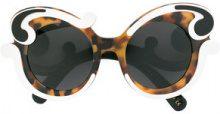 Prada Eyewear - Occhiali da sole oversize - women - Acetate - OS - Nero